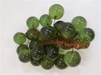 Vintage Resin Decorative Grapes