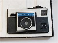 Kodak Instamatic X-15 Camera W/ Box
