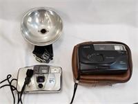 Canon/Ansco Cameras With Flash Accessory