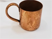 Solid Copper Moscow Mule Drinking Glassware