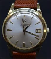 Vintage Omega 10k Gold Filled Bezel Watch