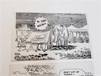 (3) Vintage Funny Postcards
