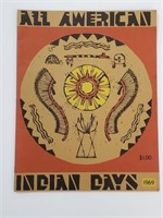 1969 All American Indian Days Booklet
