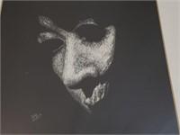 Judy Molos Framed Scratchboard Art Print