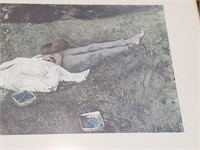 """Signed """"The Berry Picker"""" Print"""