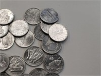 Man In Space/Space Nickles Apollo Coins