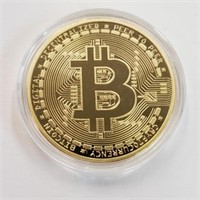 Clad Bitcoin Cryptocurrency Comm. Coin