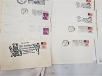 1970's-80's First Day Envelopes With Stamps