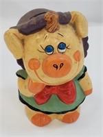Vintage Female Pig Piggy Bank