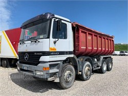 MERCEDES-BENZ ACTROS 4143  used