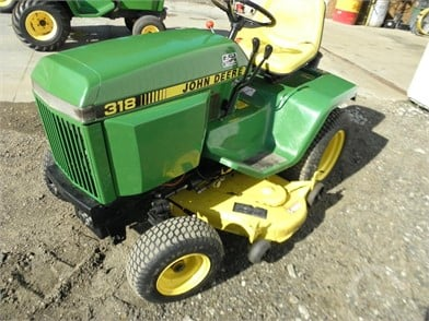 John Deere 318 Auction Results 5 Listings Auctiontime Com Page 1 Of 1