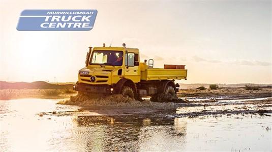 Mercedes Benz Unimog 4023 Crew Cab