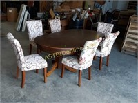 Casino / Dining Table and 6 Chairs