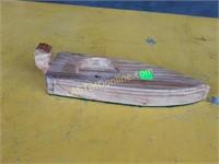 Handmade Wooden Boat Coaster