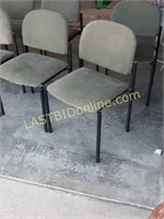 13 Green Matching Chairs