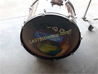 PVC Blow Horn and Bass Drum