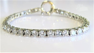 1000 Carat Natural Diamond Tennis Bracelet Other Items For