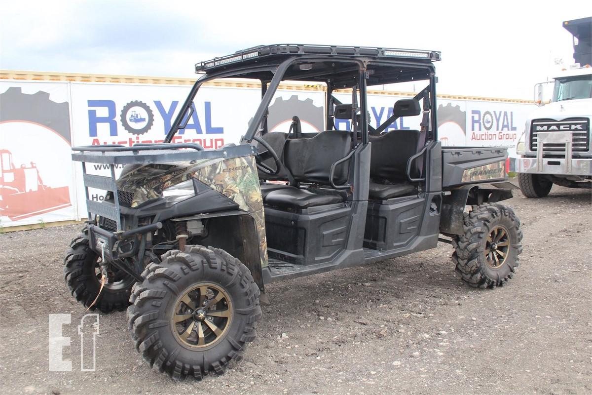 Polaris Ranger Crew 900 >> 2015 Polaris Ranger Crew 900 Crew Cab Xuv
