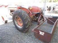 1962 Massey Ferguson Model 50 Wheel Tractor
