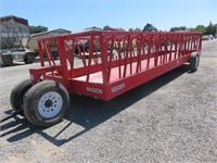 24' Portable Feeder Wagon
