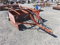 6' Hydraulic Box Scraper