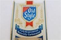 1982 Heileman's Old Style Beer Calender