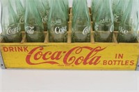 Vintage Coca-Cola Crate With Bottles