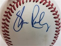 Tom Kelly Wally Backman Signed Official Baseball