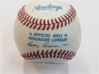 Bobby Bonds Jim Ray Hart Signed Official Baseball