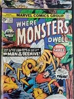 (4) Vintage Marvel Comic Books