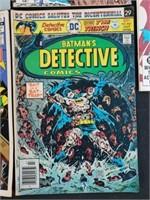 (5) Vintage DC Batman & Superman Comic Books
