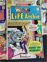 (6) Vintage Archie Comic Books
