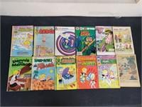 (12) Vintage Harvey Comic Books