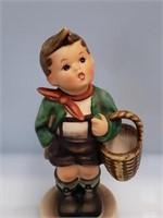 """Goebel Hummel 51 3/0 """"Village Boy"""" with basket"""