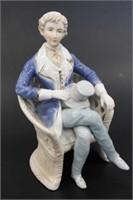 Ardalt Colonial Seated Male Figurine