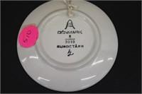 Rundetarn Denmark Hand Painted Plate
