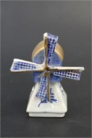Dutch Hand Painted Windmill Shaker