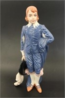 Porcelain Little Boy Blue Figurine