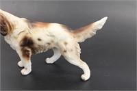 Vintage Porcelain Dog Figurine