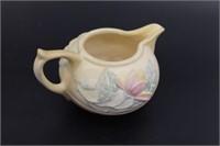 Vintage Hull Flowered Cream And Sugar Bowls