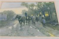 Vintage Colonial Print