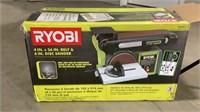 "Ryobi 4"" x 36"" Belt and 6"" Disc Sander-"