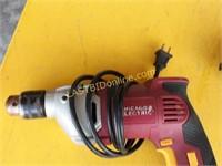 Drill, Drill Bit Sharpener and Impact Gun