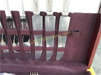 Silver Plated Flatware Set #1