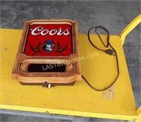 Coors Digital Clock