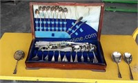 Silver Plated Flatware Set #2