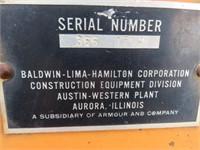 Austin-Western Super 300 Road Grader