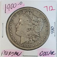 1900-O 90% Silver Morgan $1 Dollar