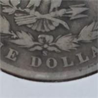 1901-S 90% Silver Morgan $1 Dollar