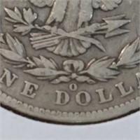 1901-O 90% Silver Morgan $1 Dollar